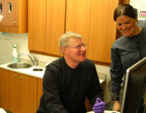 State Senator Howard Marklein at our Dodgeville Dental Clinic